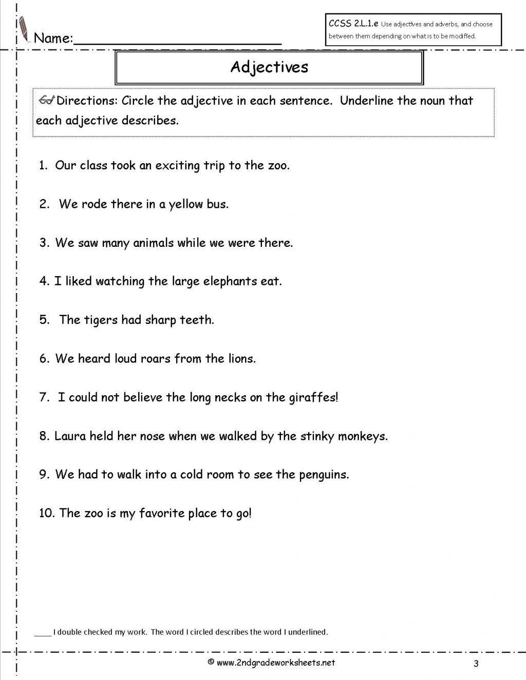 Alphabet Worksheets Verb Worksheets