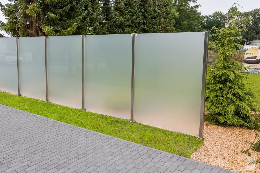 Glaszaun Fur Wind Und Sichtschutz Glasprofi24 Glaszaun Modernes Zaun Design Zaun
