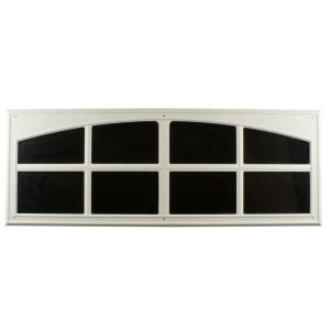 Decorative Faux Windows In White 2 Pack 10038 At The Home Depot What A Great Idea For A Garage Makeover Garage Windows Garage Door Windows Faux Window