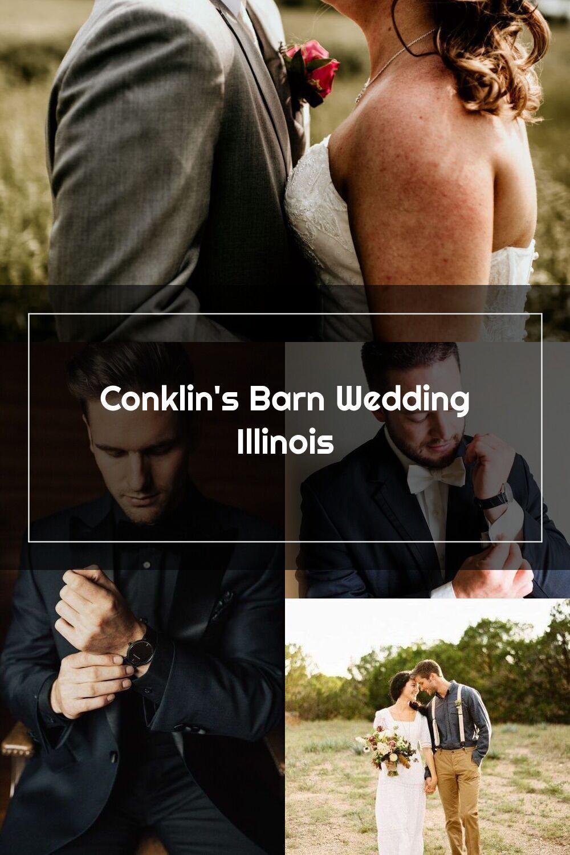 bride and groom wedding day portraits Conklin's Barn III ...