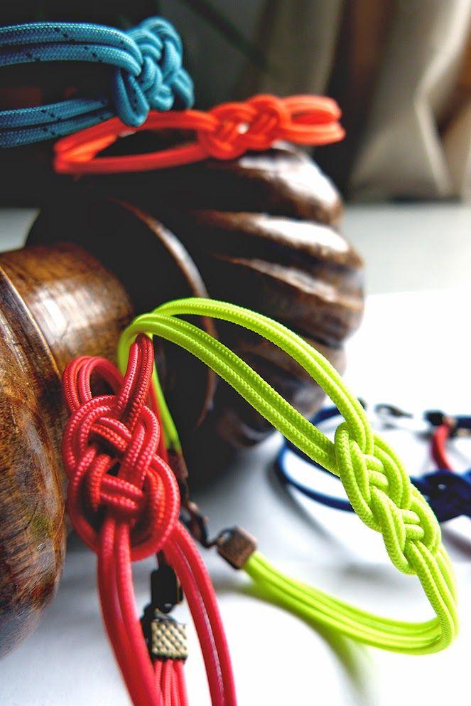 Bracelets en corde