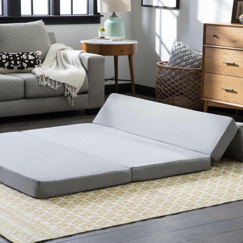"""4"""" Medium Gel Memory Foam Mattress Folding sofa"""