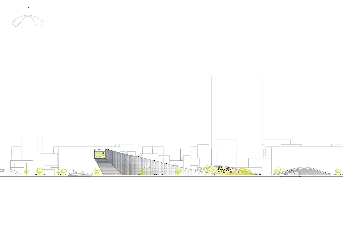 Bustler: Kaohsiung Maritime and Culture Center Proposal by JAJA Architects