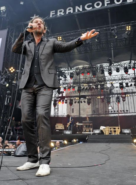 french singer arthur h at the francofolies music festival in la rochelle. Black Bedroom Furniture Sets. Home Design Ideas