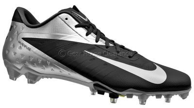 5b977dcbc26 New NIKE Vapor Talon Elite Low TD Mens Football Cleats - Black Silver