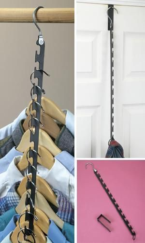 Space-Saving Hanger Wand         -