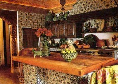 decorar cocinas al estilo mexicano cocina y muebles
