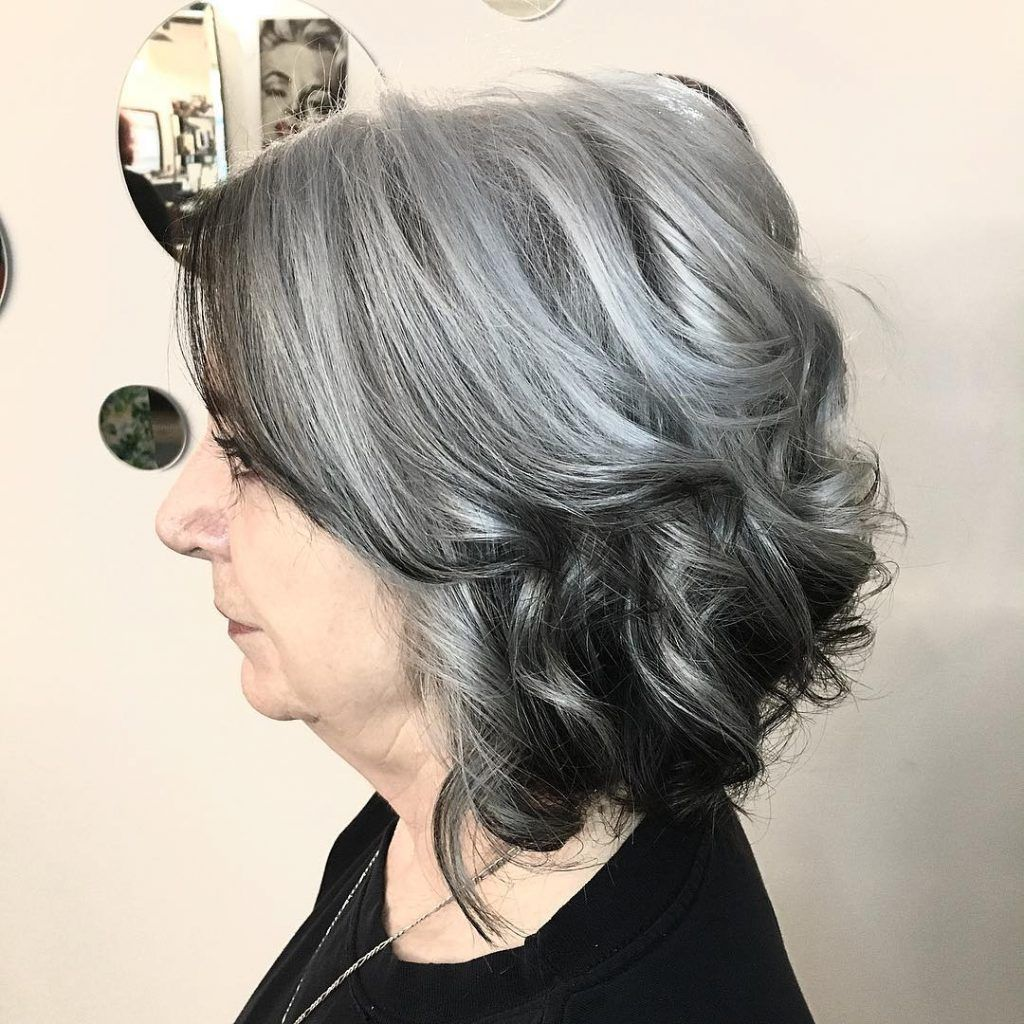 17 Reverse Silver Grey Balayage Reverse Ombre Hair Silver Ombre Hair Grey Ombre Hair