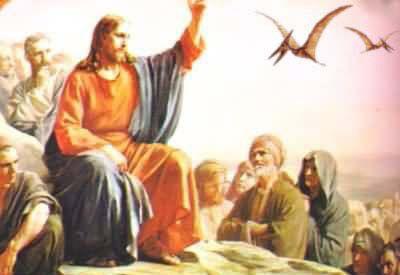 JIMSMASH ! ! !: GOD I LOVE 'JESUS WITH DINOSAURS' PICS #dinosaurpics