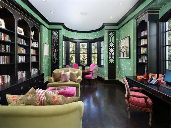 House Green Painted WallsGreen WallsPaint WallsMint
