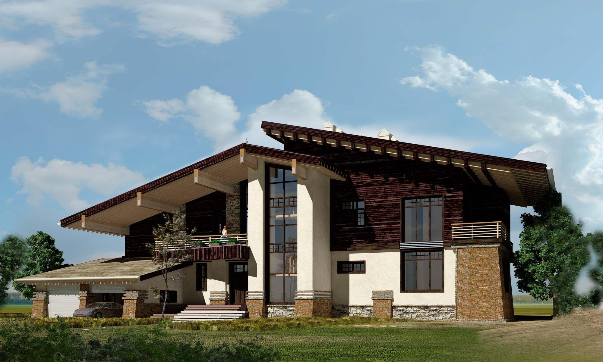 азербайджанской картинки домов с крышей шале патологии