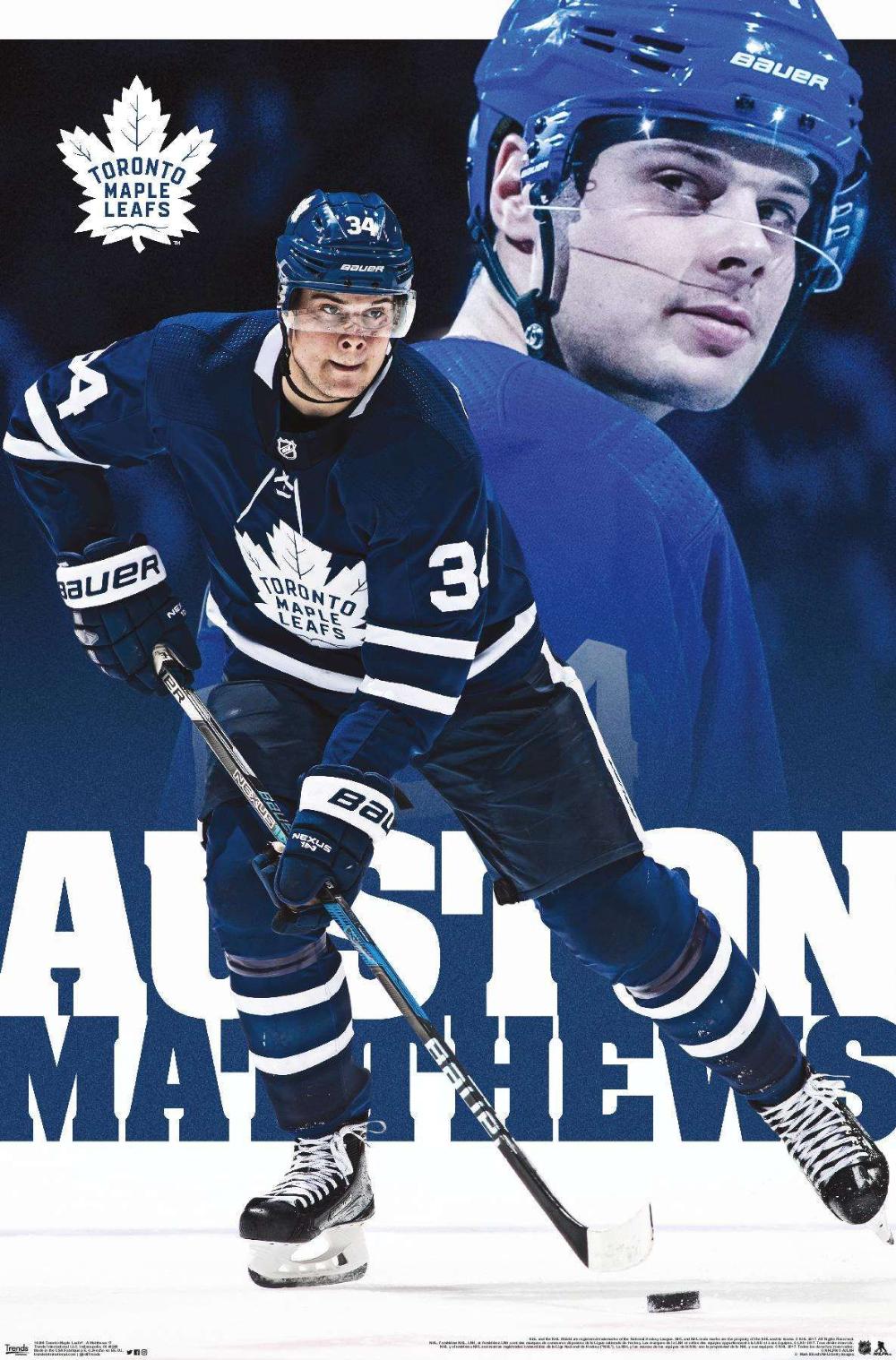 Nhl Toronto Maple Leafs Austin Matthews 17 Toronto Maple Leafs Maple Leafs Toronto Maple