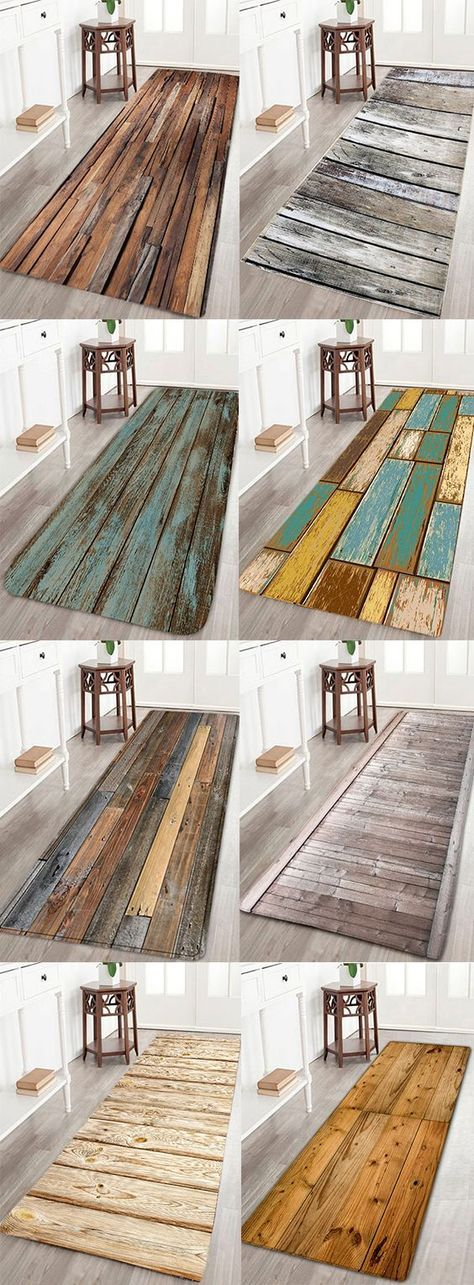 1 Get 30 Off 8 Ideas For Your Home Decor Wood Board Print Water Resistant Floor Mat Dresslily Homedecor