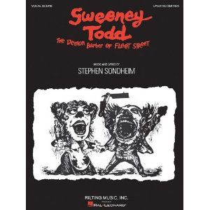 Sweeney Todd Sondheim 52 50 Sweeney Todd Audition Songs Vocal