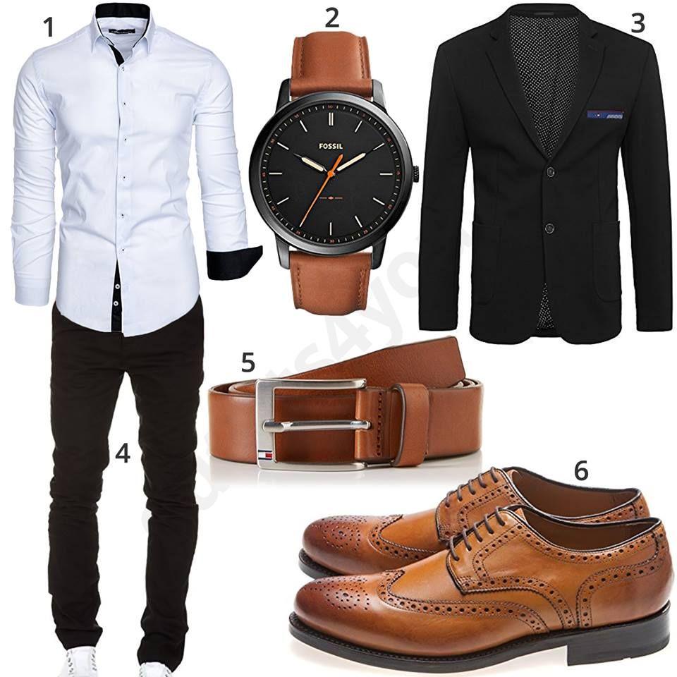Business Look mit Hemd, Chino und Sakko | habillement