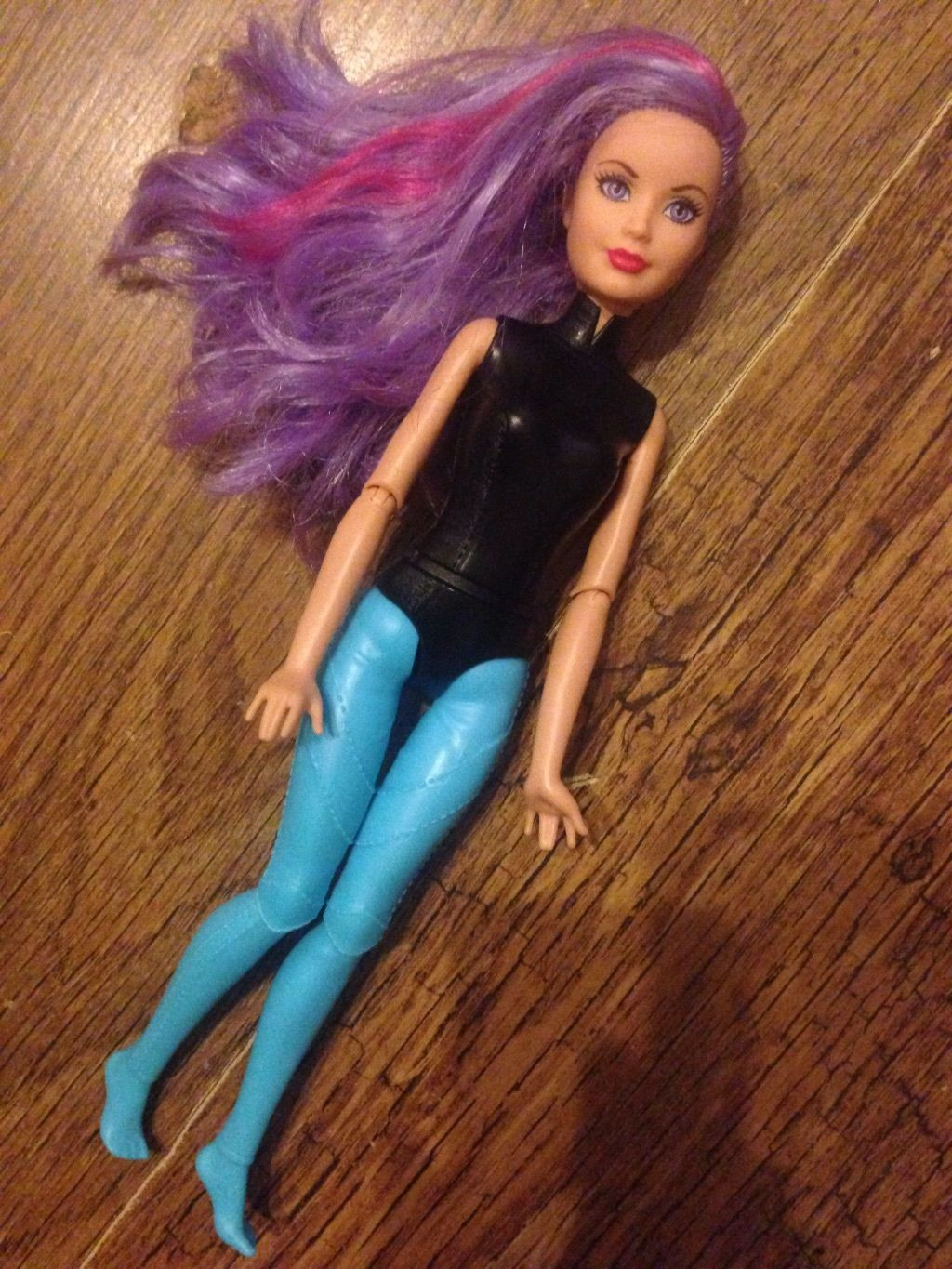 Find great deals on ebay for barbie hair extensions doll barbie light - Barbie Doll Spy Squad Cat Burgular Purple Hair 2 5 3 3