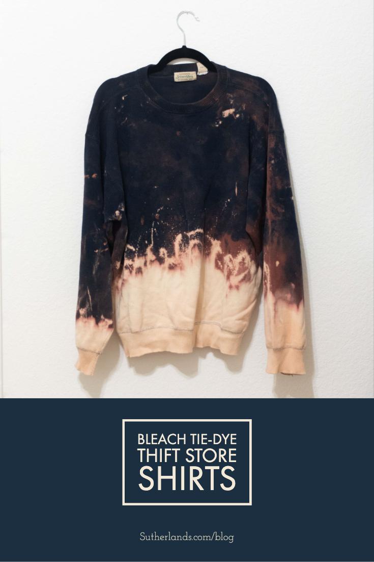 Create Bleach Tie-Dye Shirts! | Sutherlands Blog