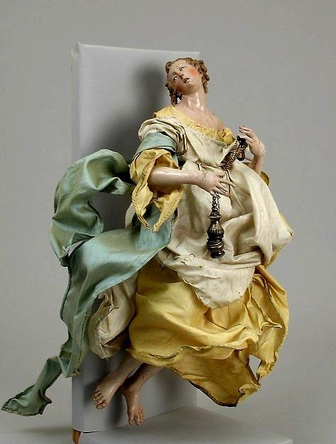 ANGELO DELL'ALBERO E PRESEPE BAROCCO Metropolitan Museum New York | Christian images, Antique ...