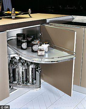 Un autre meuble d\'angle - Maxi rangements pour la cuisine ...