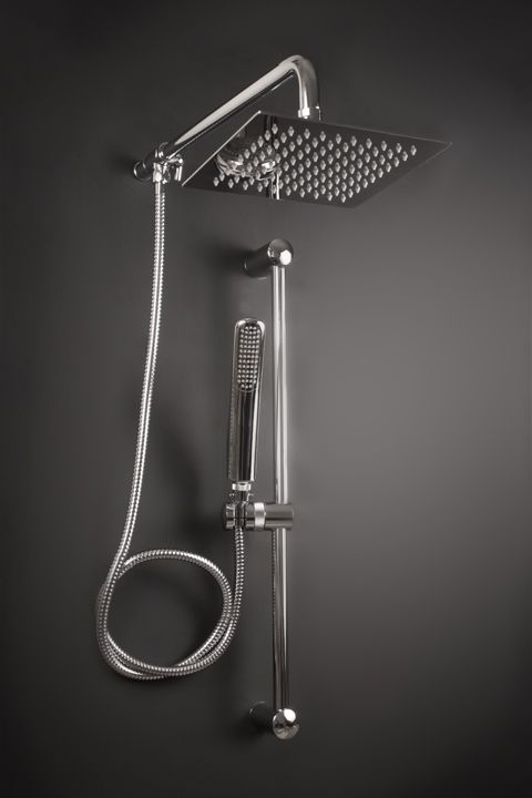 brushed nickel rain shower head with handheld. Atlantis 18 Rain Shower Head With Handheld Shown In Chrome  Also Available Brushed Nickel Oil Rubbed Bronze And Gold Finishes Shower The Can Makeover
