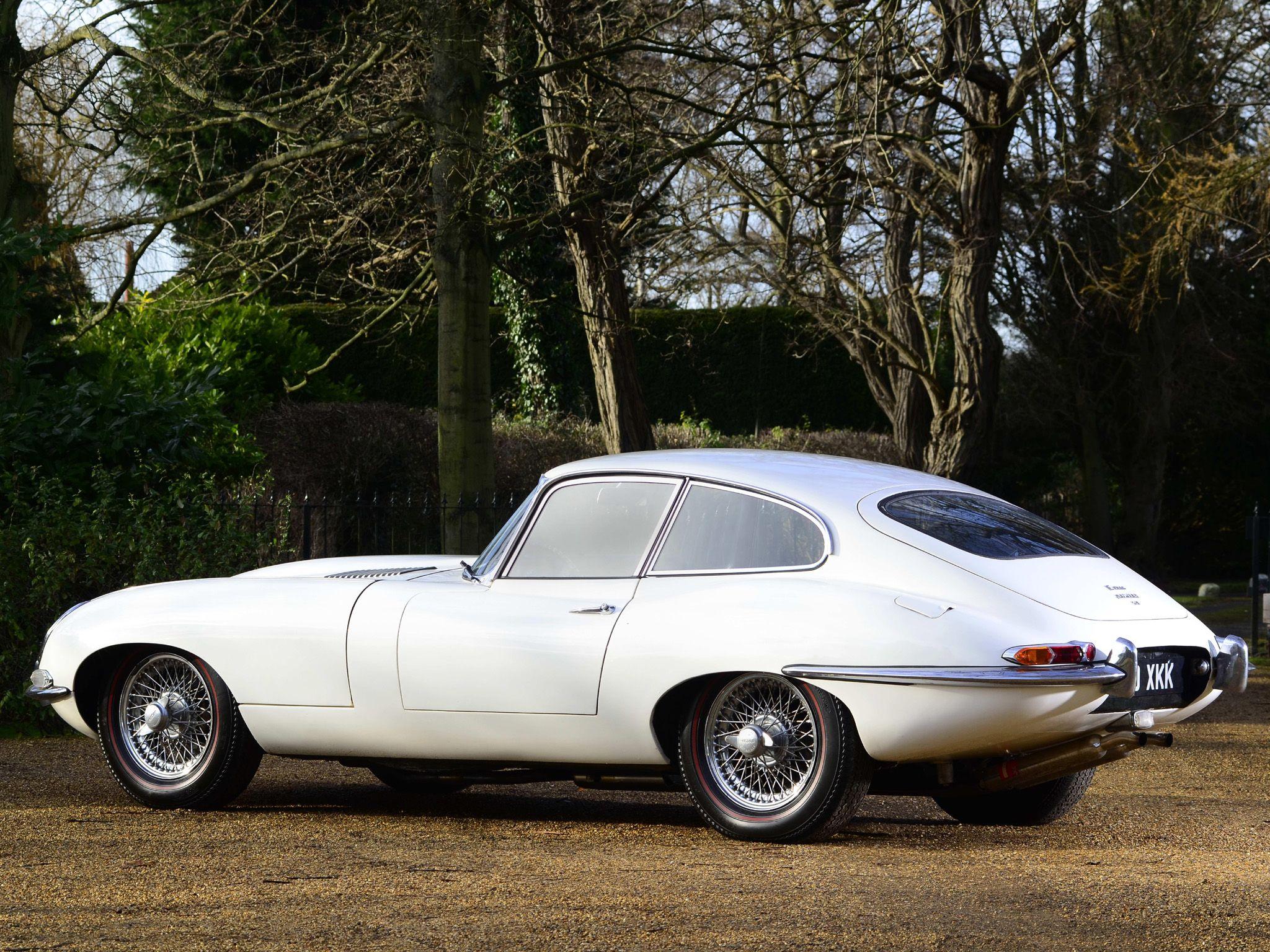 1961 Jaguar E Type Fixed Head Coupe