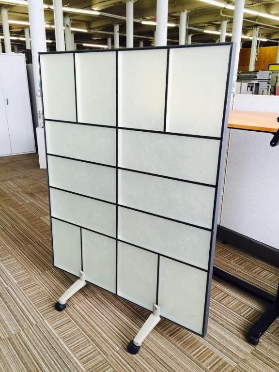 Office Dividers Available In Our Used Office Furniture
