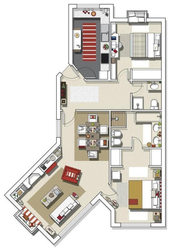 Pin by joseph on maisons Pinterest Architecture, Construction - plan maison france confort