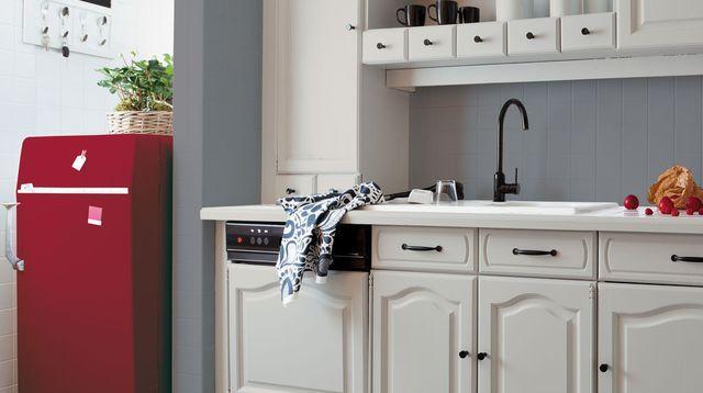 Relooking cuisine facile  repeindre les meubles, crédences, sol