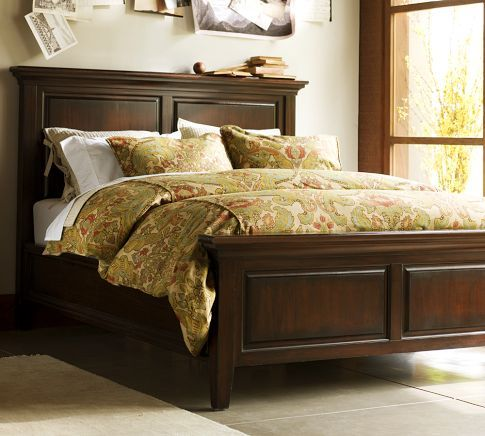 Hudson Bed Painted Bed Frames Headboard And Footboard Bed Frame