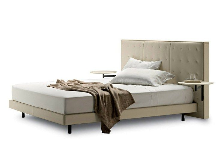 Letti Frau. Interesting Double Bed In Leather With Storage Unit And ...