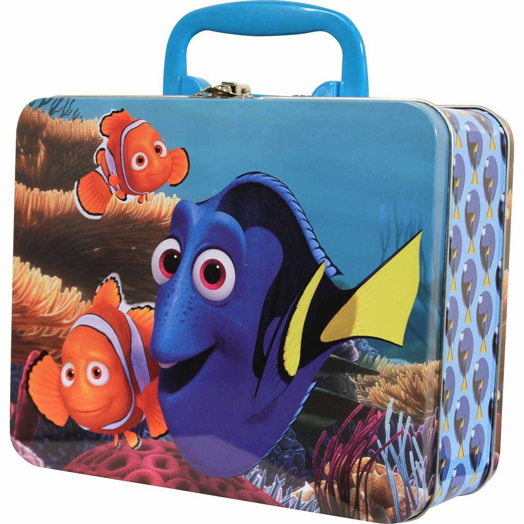 finding dory 48 piece puzzle in tin box dory