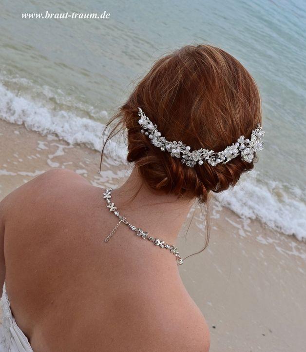 Headpiece, Diadem, Brautschmuck, Hochzeit, Braut
