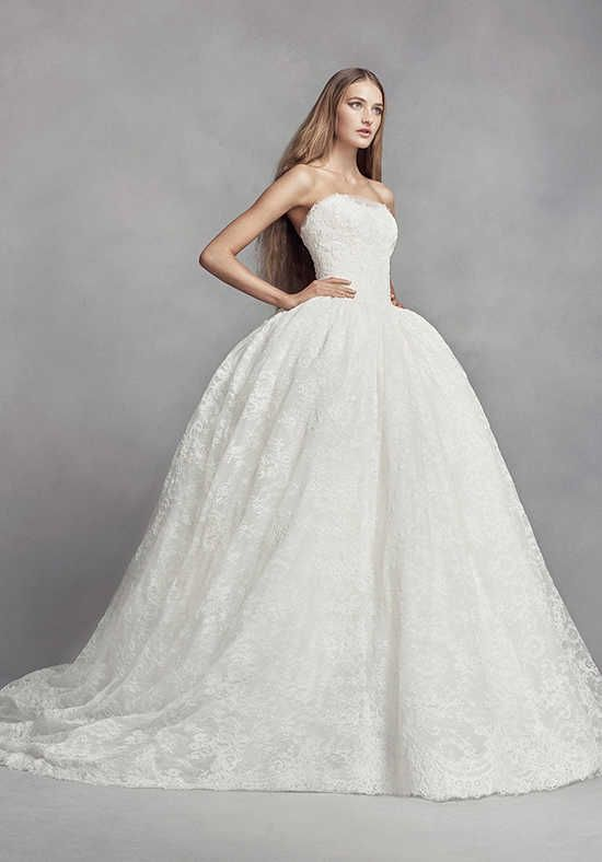 White by Vera Wang White by Vera Wang Style VW351372 Ball Gown ...
