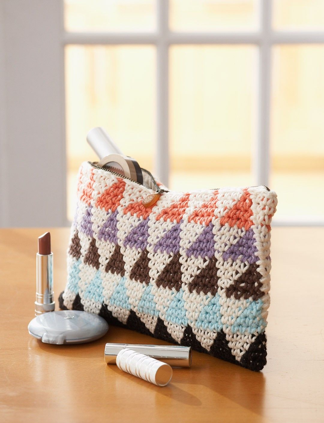 Totally Triangles! Mutli-Use Bags - Patterns | Yarnspirations ...