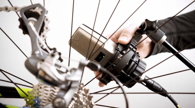Johnnyrandom Creates Bespoken Musical Symphony With Bicycle Components Bicycle Music History Music