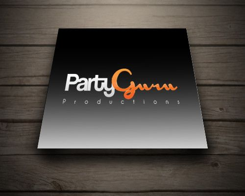 Party Guru Logo design