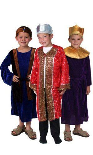 71094 Nativity Three Wisemen Costume Dressup Pageant xmas