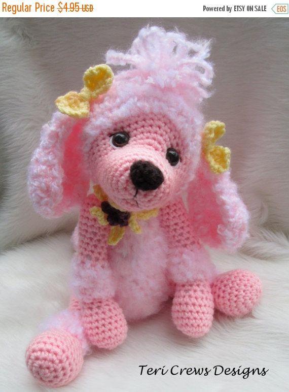 Crochet Pattern Poodle Dog by Teri Crews instant download PDF format ...
