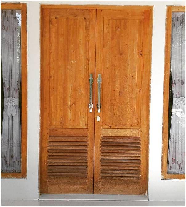 Model Desain Pintu Rumah 2 Pintu Minimalis Terbaru Rumah Minimalis Minimalis Desain
