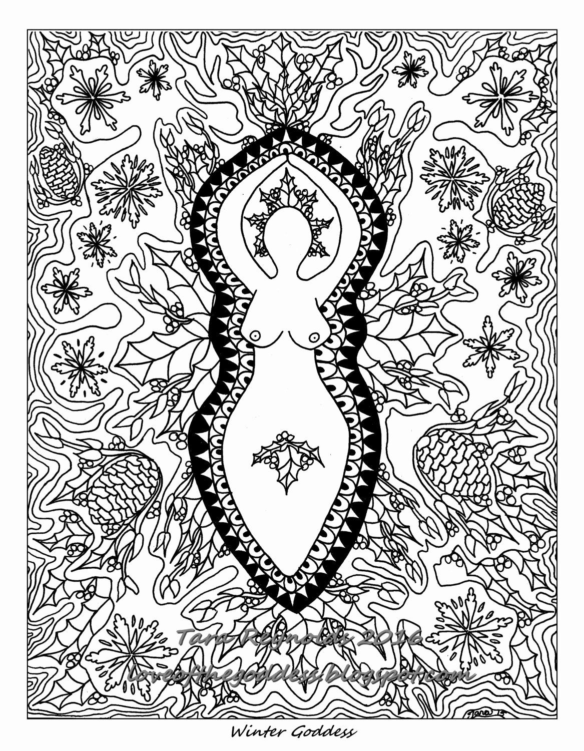 Winter Solstice Coloring Pages In 2020 Coloring Pages Coloring Pages Winter Mandala Coloring Pages