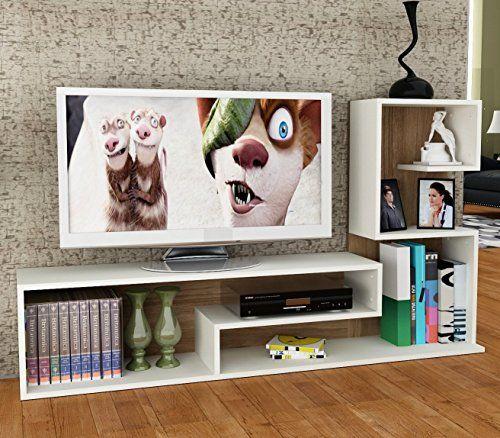 DUCHESS Set Soggiorno - Bianco / Avola - Mobile TV Porta ... https ...