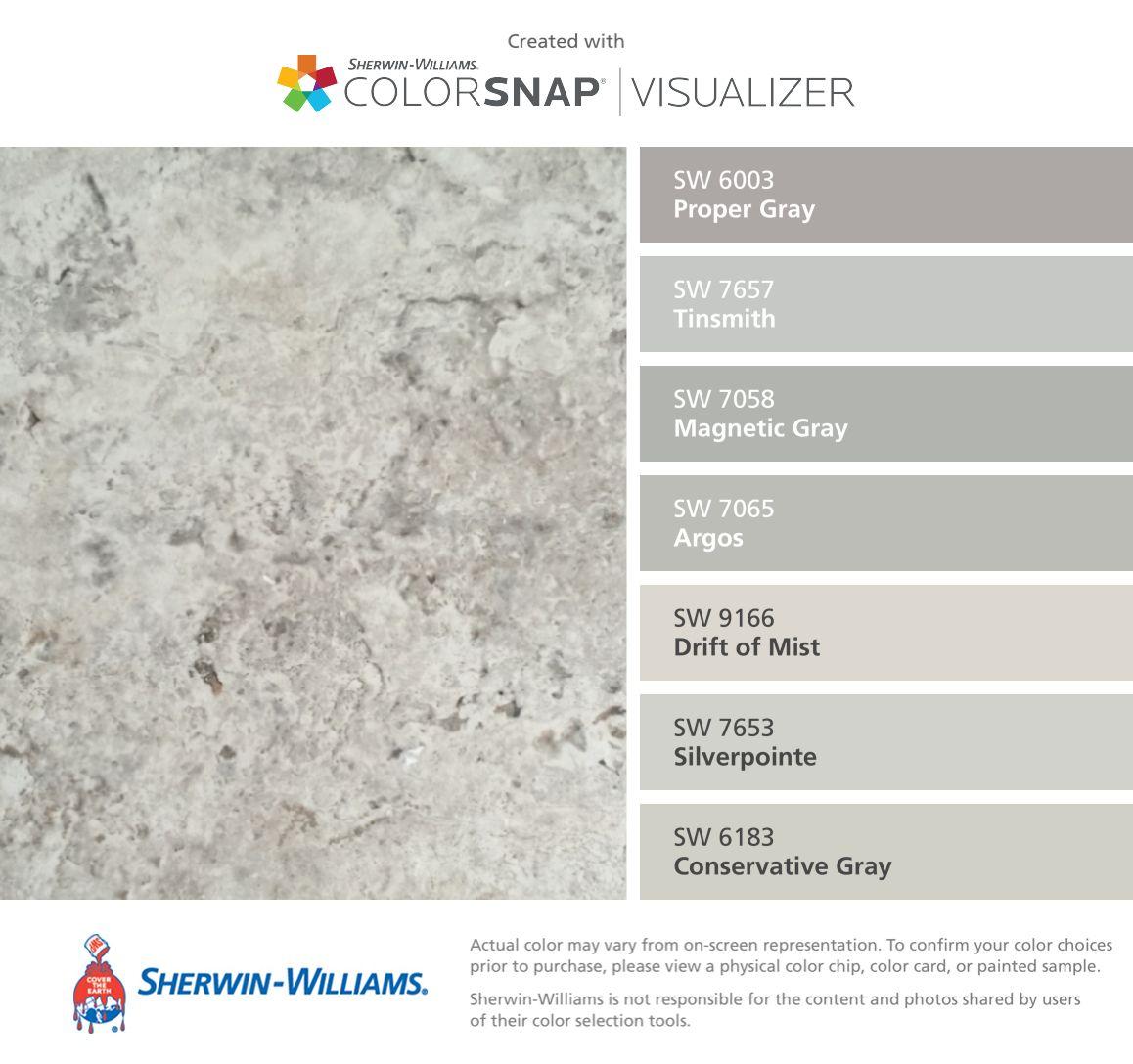 Sherwin Williams Proper Gray 6003