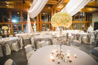 Vadnais Heights Commons With Silver White And Candlelight