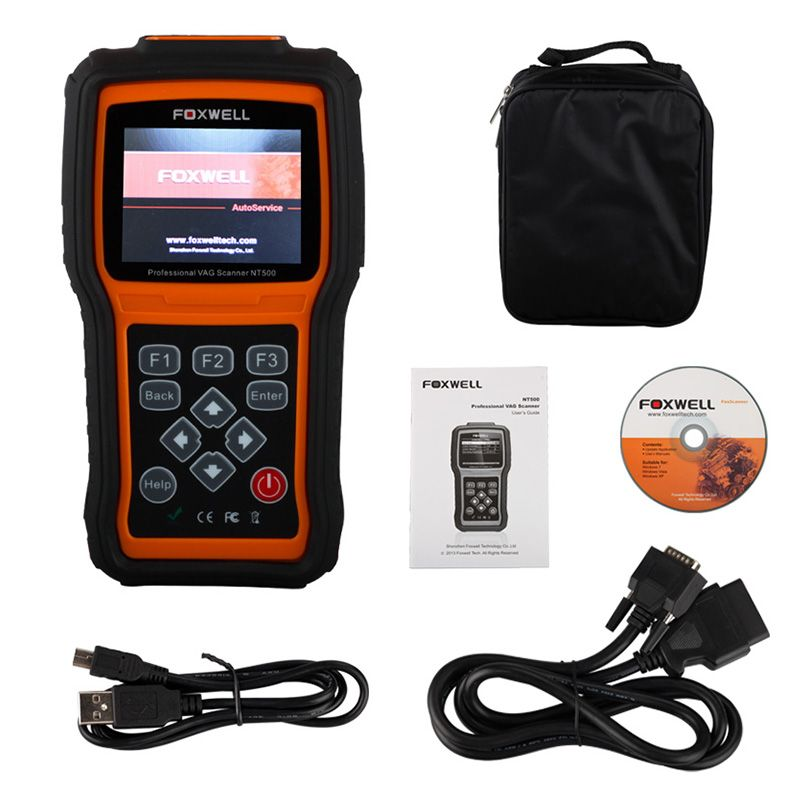 Foxwell nt510 full system obd2 car diagnostictool abs srs