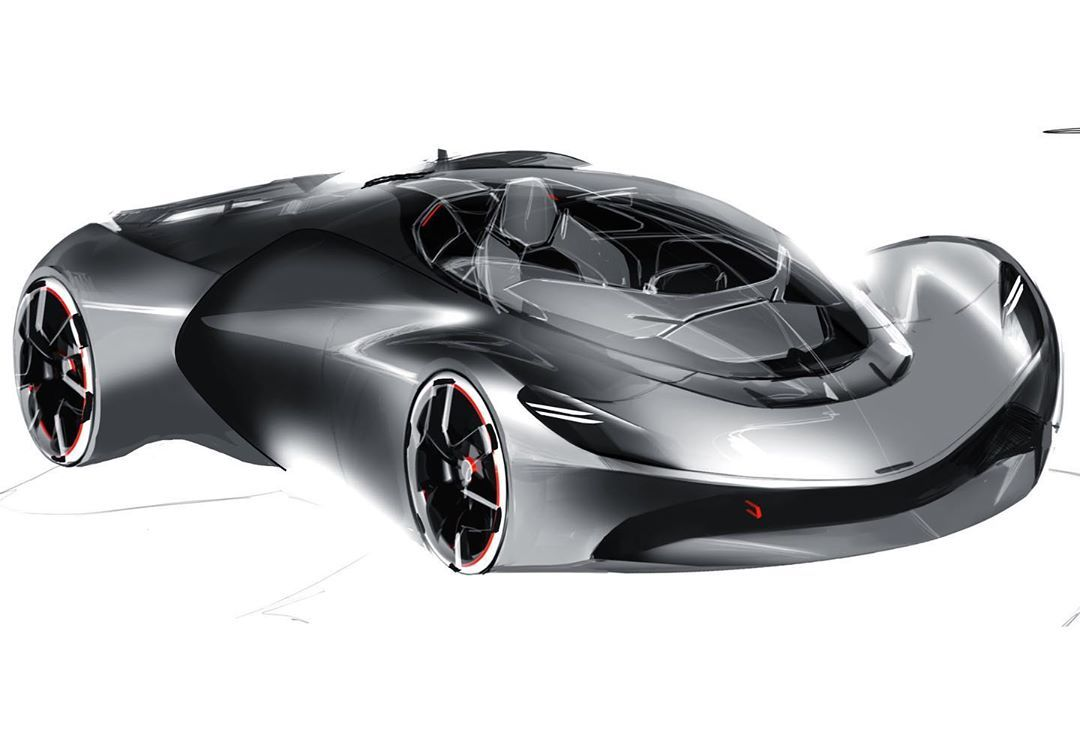 Mclaren Design Cardesign Sketch Mclaren Supercar Hypercar In 2020 Concept Cars Car Design Car Sketch