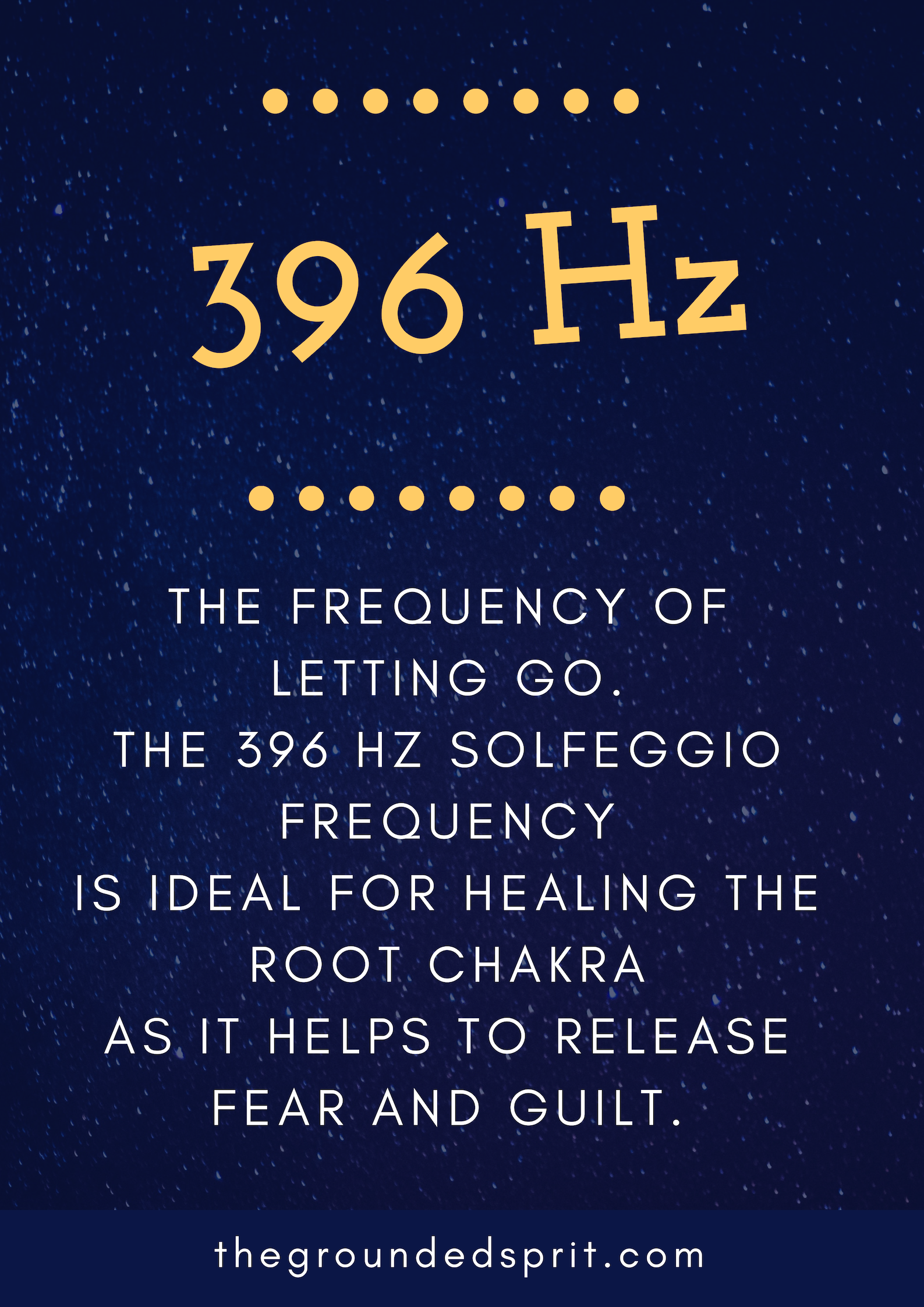 396 Hz is the perfect solfeggio frequency for root chakra