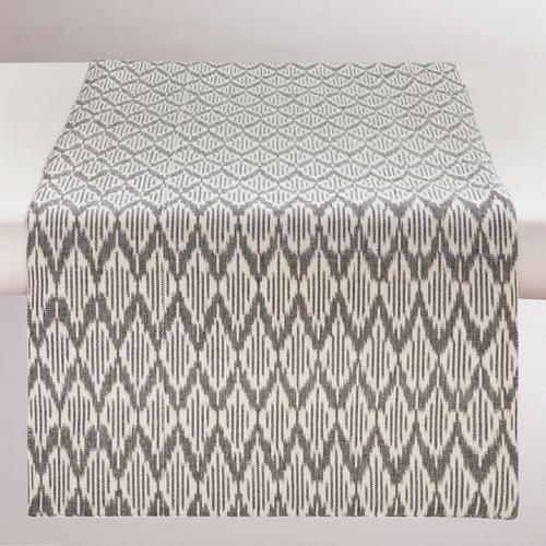 One of my favorite discoveries at WorldMarket.com: Black and White Ikat Runner