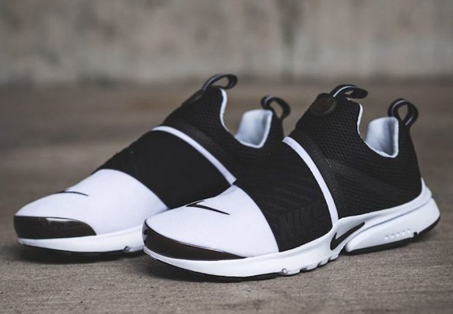 Nike Presto Extreme White Black The Nike Presto Extreme White Black is  available now in grade school sizing.