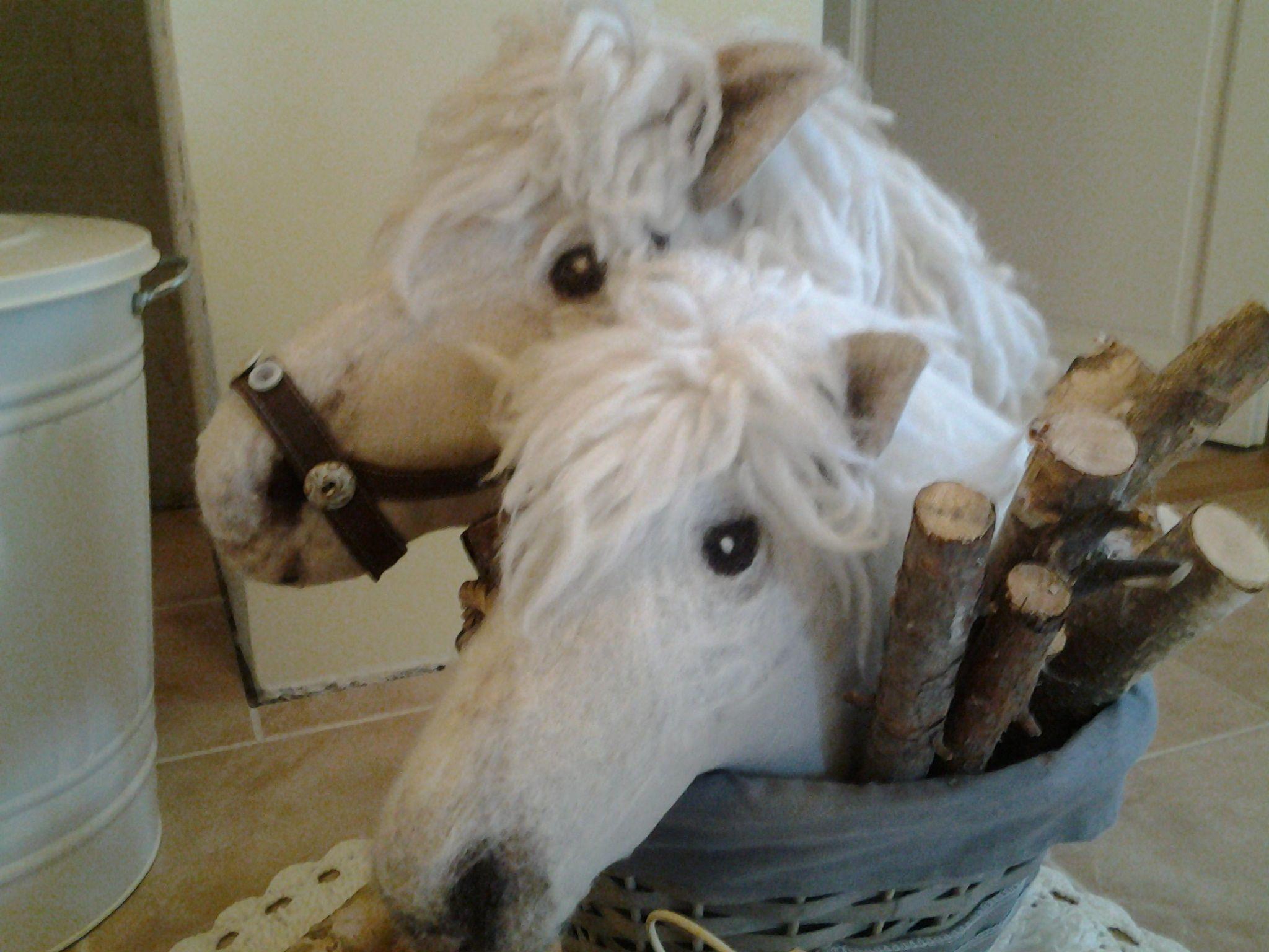 Pellava, huovutetut hevoset