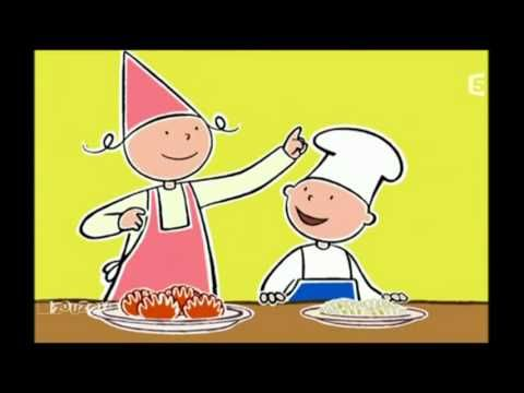 Compilation Dessin Anime La Cuisine Est Un Jeu D Enfant En Bonne French Food Cartoon Gifs Teaching French